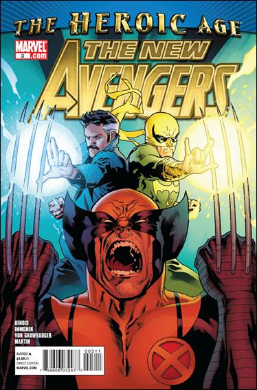 New Avengers (2010) 3-A by Marvel