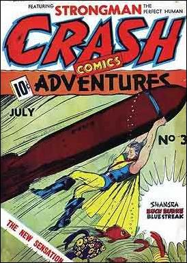 Crash Comics 3-A by Tem Publishing