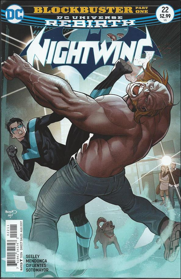 Nightwing (2016) 22-A by DC