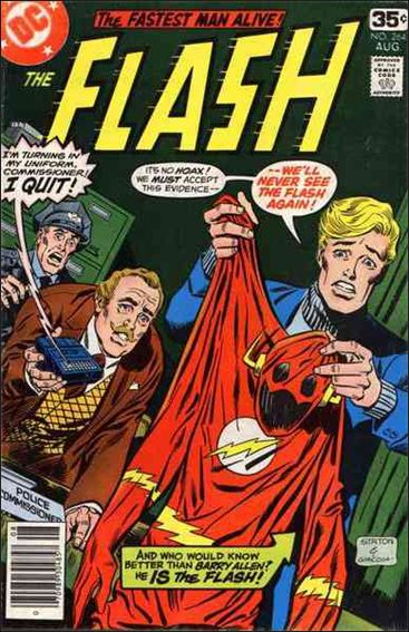 Flash (1959) 264-A by DC