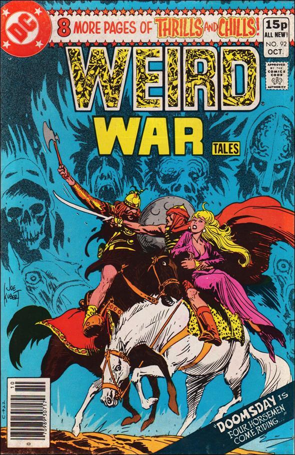 Weird War Tales (1971) 92-B by DC