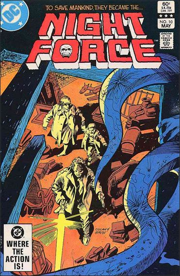 Night Force (1982) 10-A by DC