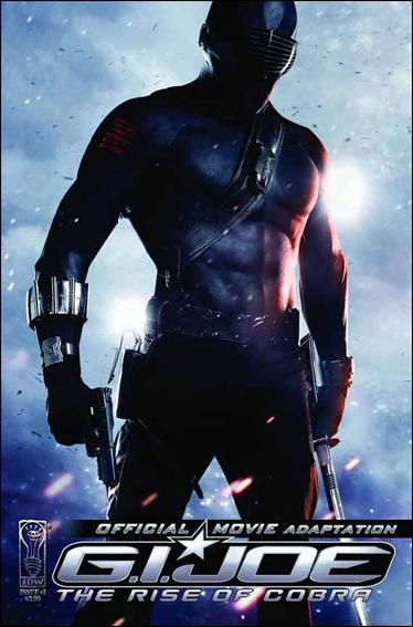 G.I. Joe: Rise Of Cobra Movie Adaptation  1-B by IDW