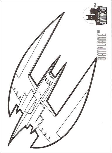 Batplane Coloring Pages Coloring Pages