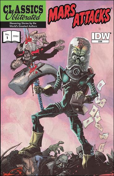 Mars Attacks: Classics Obliterated 1-A by IDW