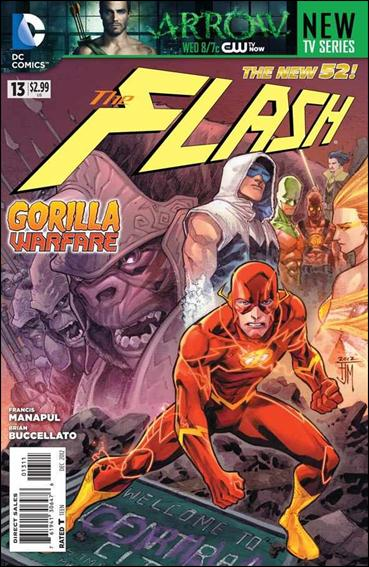 Flash (2011) 13-A by DC