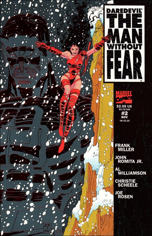 Daredevil The Man Without Fear 2-A by Marvel