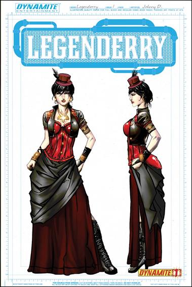 Legenderry: A Steampunk Adventure 1-C by Dynamite Entertainment