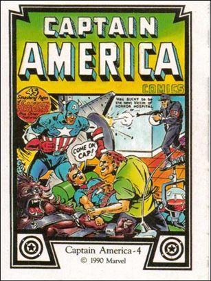 Captain America (Base Set) 4-A