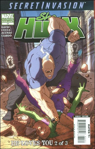 She-Hulk (2005) 31-B by Marvel