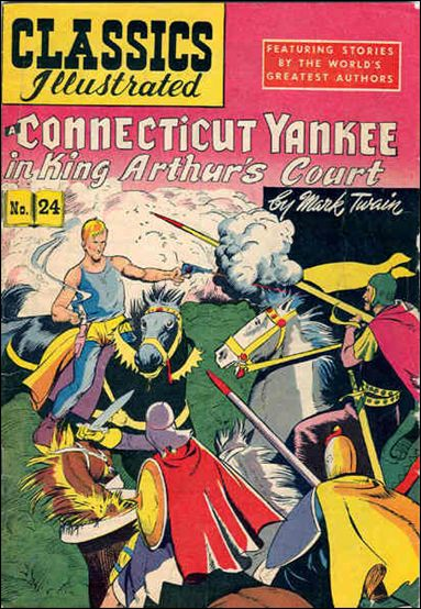 Classic Comics/Classics Illustrated 24-E by Gilberton