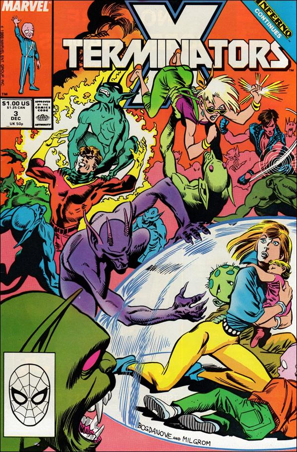 X-Terminators 3-A by Marvel
