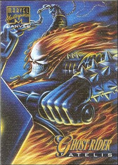 1995 Marvel Masterpieces (Canvas Subset) 8-A by Fleer