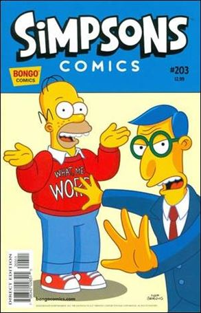 Simpsons Comics 203-A