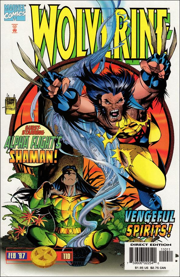 Wolverine (1988)  110-A by Marvel