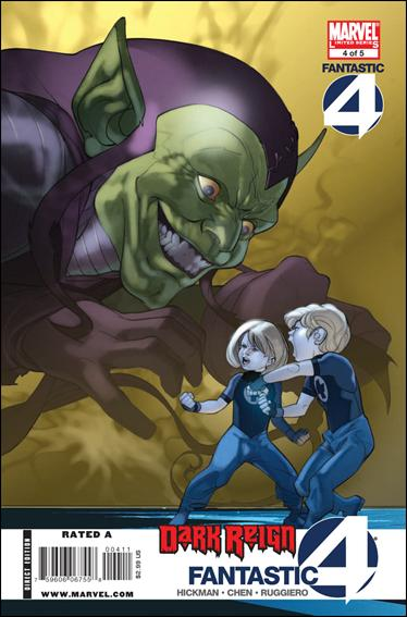 Dark Reign: Fantastic Four 4-A by Marvel