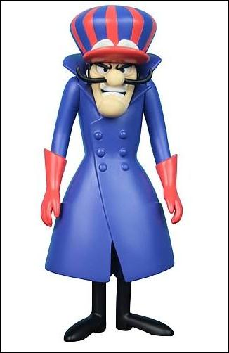 Hanna-Barbera History  Collection Dick Dastardly by X Plus