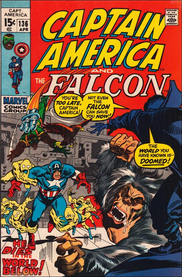 Captain America (1968) 136-A by Marvel