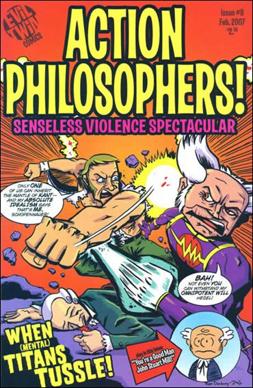 Action Philosophers 8-A by Evil Twin Comics