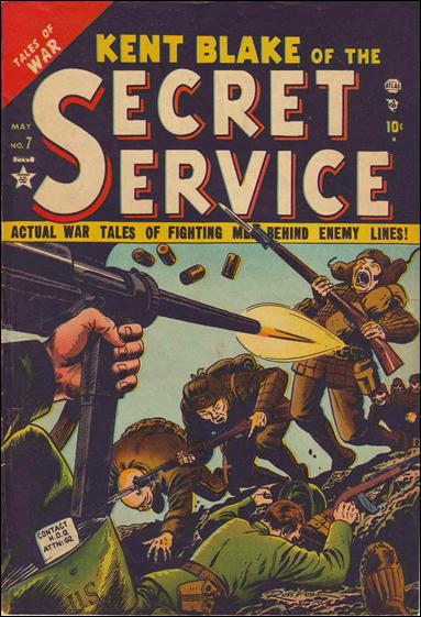 Kent Blake of the Secret Service 7-A by Atlas