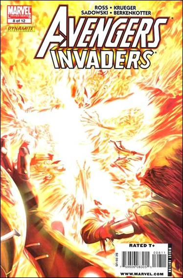 Avengers/Invaders 8-A by Marvel