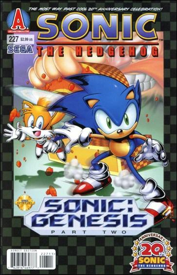 Sonic the Hedgehog (1993) 227-A by Archie
