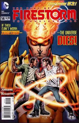 Fury of Firestorm: The Nuclear Men 14-Z-INVALID by DC