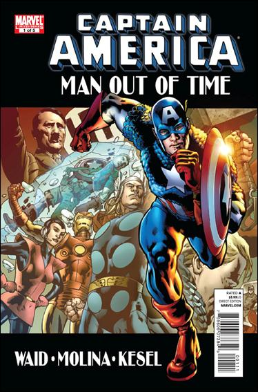 Captain America: Man Out of Time 1-A by Marvel