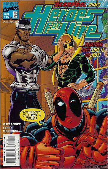 Heroes for Hire (1997) 10-A by Marvel