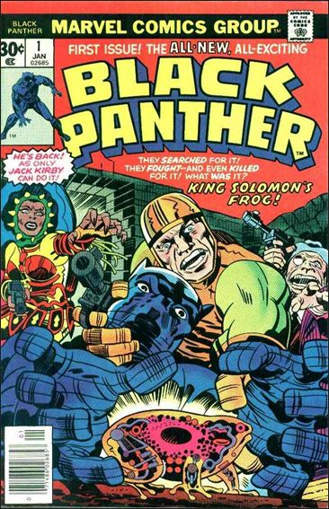 Black Panther (1977) 1-A by Marvel