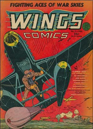 Wings Comics (1940) 5-A