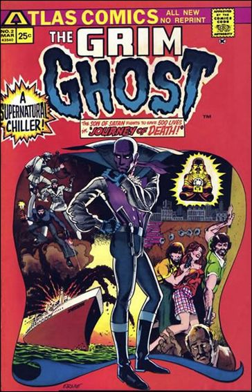 Grim Ghost (1975) 2-A by Atlas-Seaboard