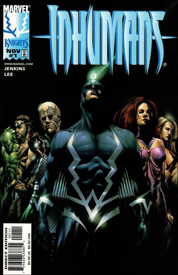 Inhumans (1998) 1-A by Marvel