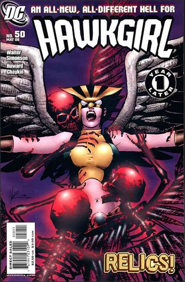 Hawkgirl 50-A by DC