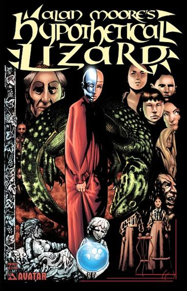 Alan Moore's Hypothetical Lizard Preview-A by Avatar Press