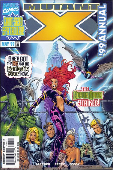 Mutant X Annual 1999-A by Marvel