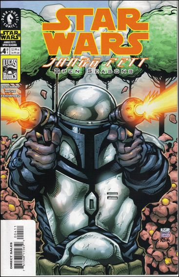 Star Wars: Jango Fett - Open Seasons 4-A by Dark Horse
