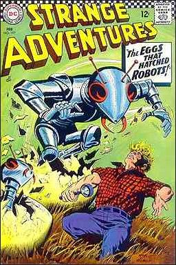 Strange Adventures (1950) 197-A by DC