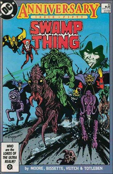 Swamp Thing (1986) 50-A by Vertigo