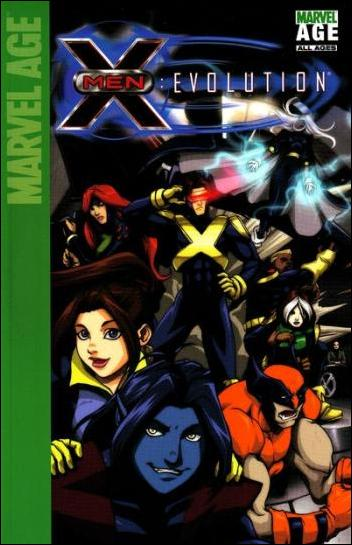 X-Men: Evolution 1-B by Marvel