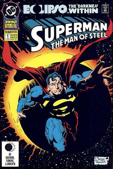 Superman: The Man of Steel Annual 1-A by DC