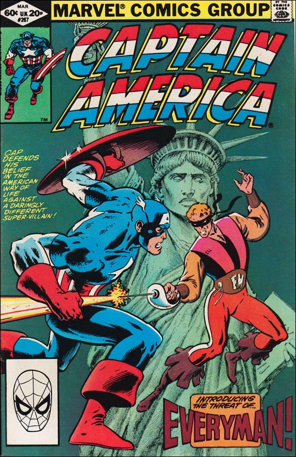 Captain America (1968) 267-A by Marvel