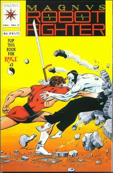 Magnus Robot Fighter (1991) 7-A by Valiant