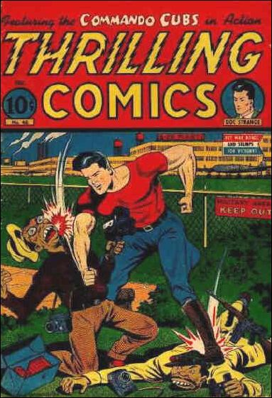 Thrilling Comics (1940) 46-A by Standard