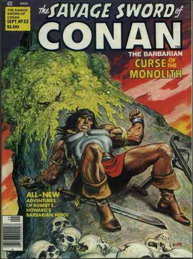 Savage Sword of Conan (1974) 33-A by Marvel