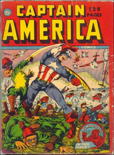Captain America Comics Annual nn-A by Timely