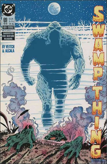 Swamp Thing (1986) 69-A by Vertigo