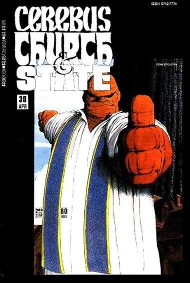 Cerebus: Church & State 30-A by Aardvark-Vanaheim