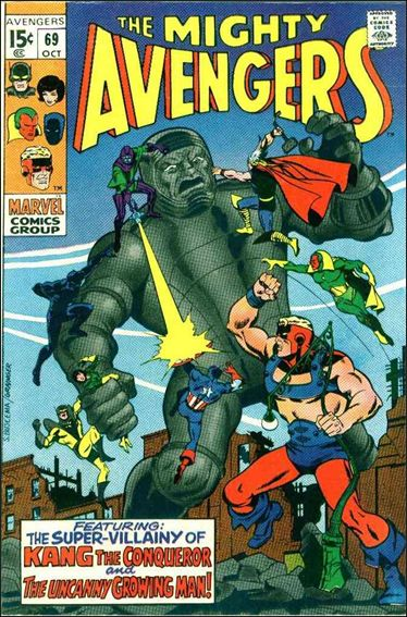 Avengers (1963) 69-A by Marvel