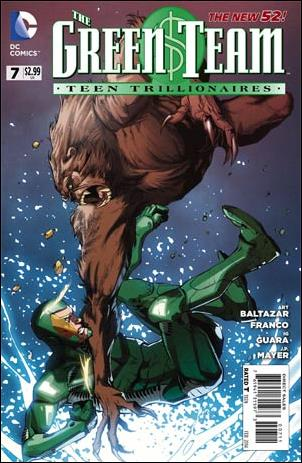 Green Team: Teen Trillionaires 7-A by DC
